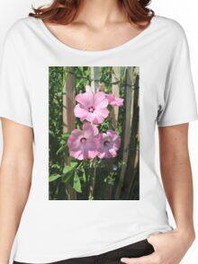 Nature, Garden, Park, Flower, pink,  Women's Relaxed Fit T-Shirt