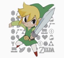 Legend of Zelda - Link Kids Clothes