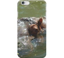 Hippo time iPhone Case/Skin