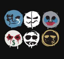 Holywood Undead Mask by Navassa
