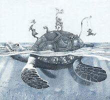 """Turtle"" by Sergei Rukavishnikov by Alenka Co"
