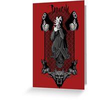 Bram Stoker's Dracula, Vampire Greeting Card