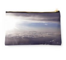 Sunset above the Clouds Studio Pouch