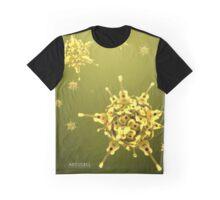 Ukulele Acquisition Syndrome Virus Full - Yellow Graphic T-Shirt