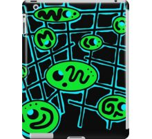 Green and blue abstraction iPad Case/Skin