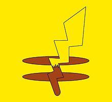 Pikachu's Tail by angieguzman