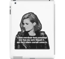 STANA KATIC, QUOTE iPad Case/Skin