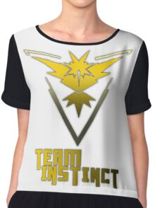 Team Instinct! - Pokemon Chiffon Top