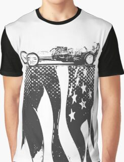 Black Flag Dragster Graphic T-Shirt