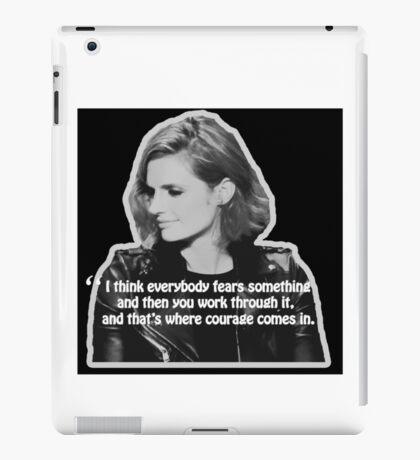 STANA KATIC, QUOTE iPad Case/Skin