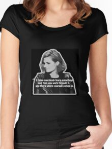 STANA KATIC, QUOTE Women's Fitted Scoop T-Shirt