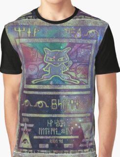 Pokemon Card- Mew Graphic T-Shirt
