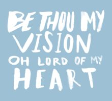 Be Thou My Vision x Navy Baby Tee