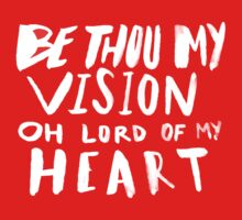 Be Thou My Vision x Navy Kids Tee
