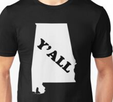 Alabama Yall Unisex T-Shirt