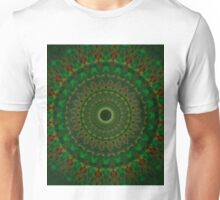 Green mandala of hope Unisex T-Shirt