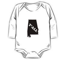 Alabama Yall One Piece - Long Sleeve