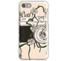 Vintage Camera Blooms iPhone Case/Skin