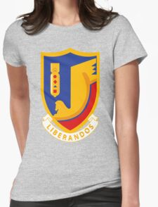 376th Bombardment Group Liberandos Emblem Womens Fitted T-Shirt
