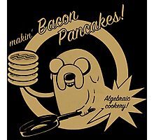 Bacon Pancakes T-Shirts Photographic Print