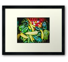 Soul Food Framed Print