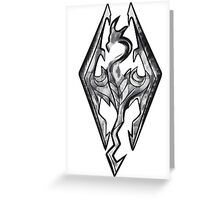 Dovahkiin Sign Greeting Card