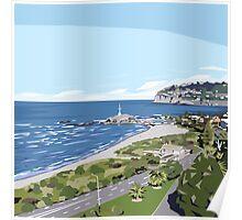 Sumner Beach, NZ by Ira Mitchell-Kirk Poster