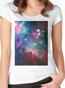 Mew- Galaxy Women's Fitted Scoop T-Shirt