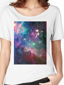 Mew- Galaxy Women's Relaxed Fit T-Shirt