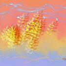 Leaf Dance by Lois  Bryan