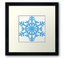 Snow Winter Framed Print