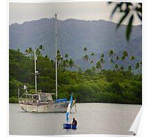 Savusavu Harbour Poster