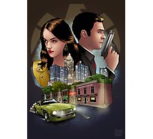Undercover Fitzsimmons Photographic Print