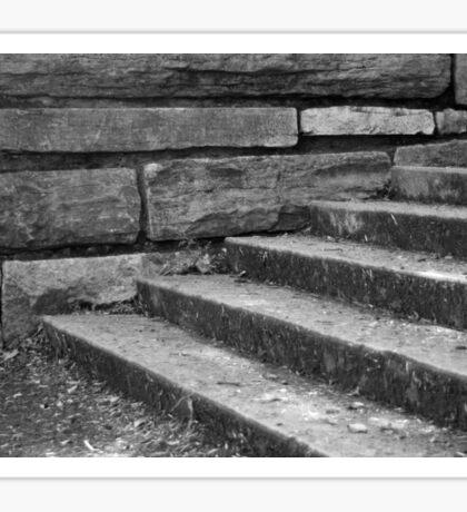 Stone Steps Sticker