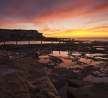 Mahon Pool Maroubra by anthonyclarkau