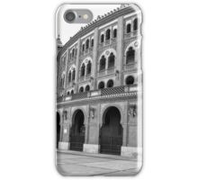 Plaza Del Toro - Madrid, Spain iPhone Case/Skin