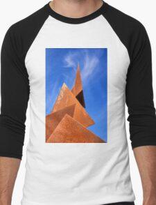 Twisted Pyramids Men's Baseball ¾ T-Shirt
