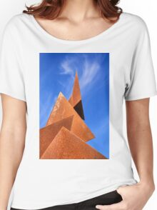 Twisted Pyramids Women's Relaxed Fit T-Shirt