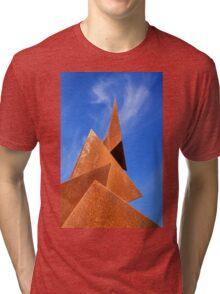 Twisted Pyramids Tri-blend T-Shirt