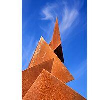 Twisted Pyramids Photographic Print