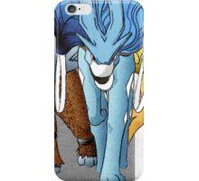 Shiny Legendary Beasts - Manga Edit iPhone Case/Skin