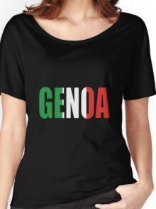 Genoa. Women's Relaxed Fit T-Shirt