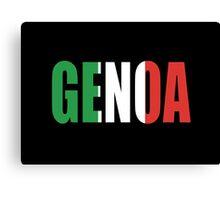 Genoa. Canvas Print