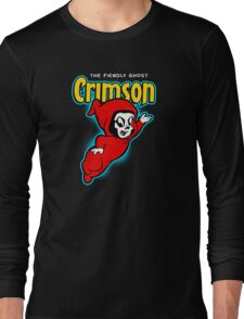 Crimson the Fiendly Ghost Long Sleeve T-Shirt