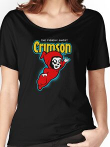 Crimson the Fiendly Ghost Women's Relaxed Fit T-Shirt