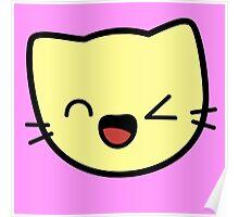 Kawaii Kitty Cats 2048 - tile 256 Poster