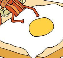 Breakfast in Bed Sticker