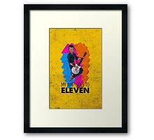 My Amp Goes to Eleven Framed Print