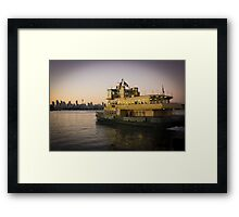 Sydney Sunrise Framed Print