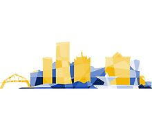 Polygonal Milwaukee | Brewers  by abowersock